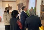 В Анкаре открылась персональная выставка азербайджанского скульптора Саида Рустама