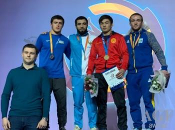 Азербайджанские борцы завоевали на Киевском международном турнире 6 медалей