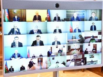 В Оперативном штабе при Кабинете Министров обсуждены ситуация в связи с пандемией и процесс вакцинации