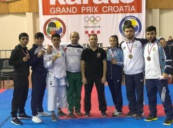 Азербайджанские каратисты выиграли восемь медалей на Гран-при