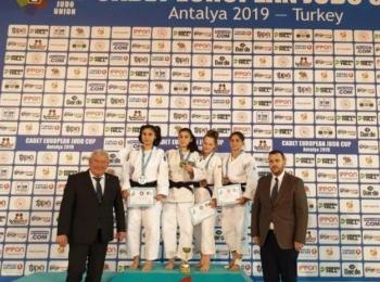 Наши дзюдоисты-юниоры завоевали 5 медалей на Кубке континента