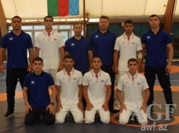 Наша сборная по греко-римской борьбе заняла второе место на чемпионате мира в Болгарии
